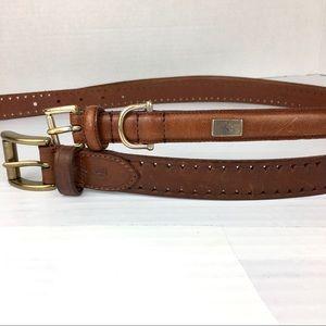 Two Ralph Lauren belts sz s